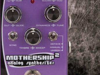 Pigtronix Mothership 2, el sintetizador analógico de guitarra, ahora en formato compacto