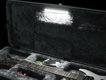 Gator Cases LED Edition, estuches de guitarra con iluminación interior
