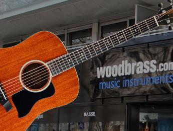 Gana una acústica Taylor valorada en 3000 euros con Woodbrass y Guitarristas