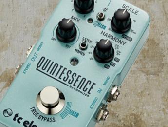 Quintessence, el pedal armonizador inteligente de TC Electronic