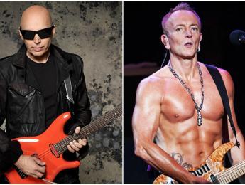 """Joe Satriani defiende su elección para el G3: """"Phil Collen es un virtuoso total"""""""