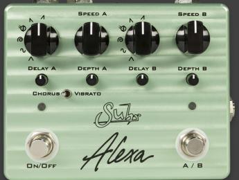 Alexa, el nuevo pedal dual de chorus de Suhr