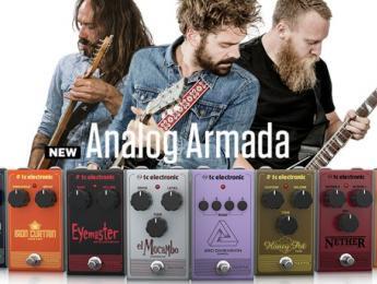 TC Electronic presenta 8 nuevos pedales de efecto