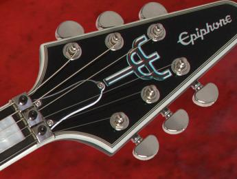 Epiphone Richie Faulkner Flying V Custom Outfit, modelo signature del guitarrista Judas Priest