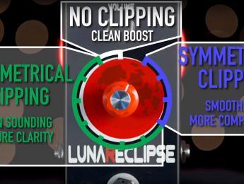 Fuzzrocious LunaReclipse, 12 métodos de distorsión en un solo pedal