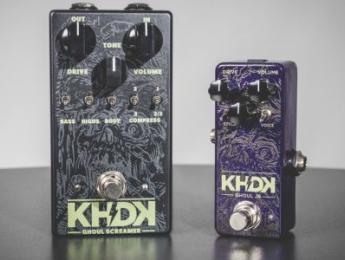 Ghoul Jr., el pedal de overdrive de KHDK en versión reducida