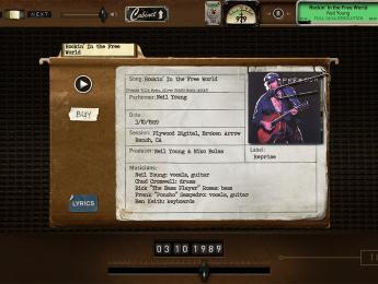 Neil Young ofrece toda su música gratis y con alta calidad, por tiempo limitado
