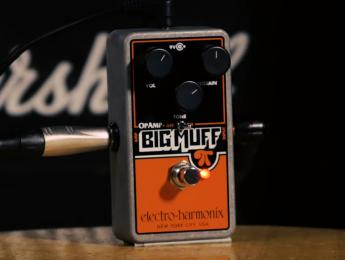 Electro-Harmonix OpAmp Big Muff Pi, el pedal signature de Billy Corgan