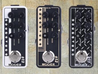 Mesa Boogie, Friedman y Matchless, emulados por Mooer en sus nuevos pedales
