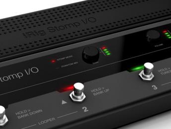 IK Multimedia desvela el controlador iRig Stomp I/O