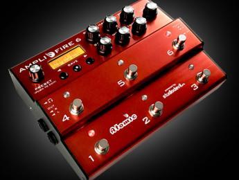 AmpliFIRE 6, el procesador de Atomic, ahora con 6 pulsadores
