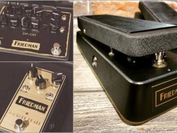 DP-OD, Golden Pearl y Gold 72, los 3 nuevos pedales de Friedman