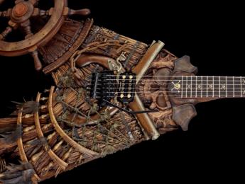 The Buccaneer, otra obra de arte de la Custom Shop de ESP