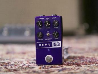 Revv G3, el primer pedal de distorsión de Revv Amplification