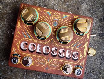 Colossus de Dr. No, diseñado en colaboración con Ruben Block de Triggerfinger