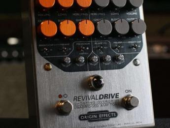 RevivalDrive de Origin recrea la topología de un ampli a válvulas