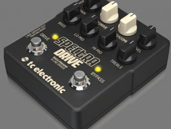 TC Electronic SpectraDrive, previo con efectos y caja DI para bajo