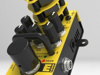 AMT Electronics X Lead, nuevos emuladores de amplis a válvulas hechos en Rusia