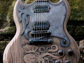 Cthulhu SG, una guitarra inspirada en el monstruo de H.P. Lovecraft