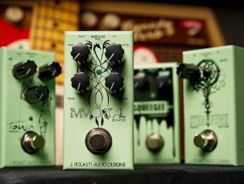 J. Rockett Audio celebra su 10 aniversario con 4 pedales de precio asequible