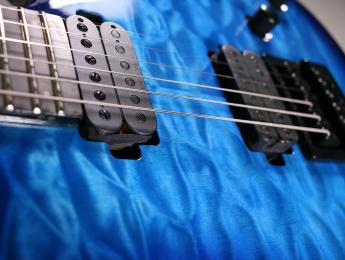 Review de Solar Guitars S1.6ET Quilted Ocean Blue