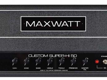 Hiwatt desvela el cabezal Maxwatt Custom Super-Hi 50 diseñado por Mike Fortin