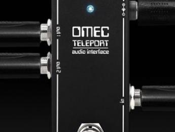 Orange OMEC Teleport, un pedal para tocar con tu software en directo