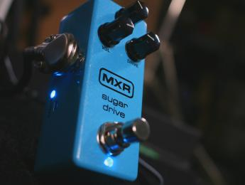 Review de MXR Sugar Drive, un overdrive basado en el Klon Centaur