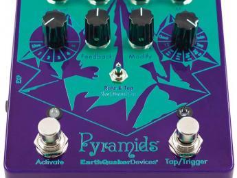 Pyramids, un completo flanger estéreo de Earthquaker Devices