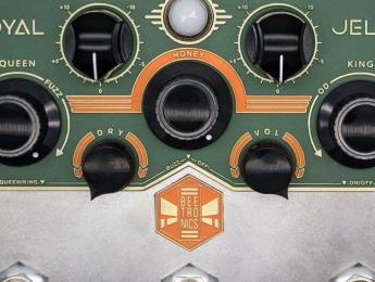 Buzzter y Royal Jelly, los nuevos booster y overdrive/fuzz de Beetronics
