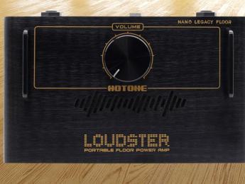 Loudster, la nueva etapa de potencia para pedaleras de Hotone