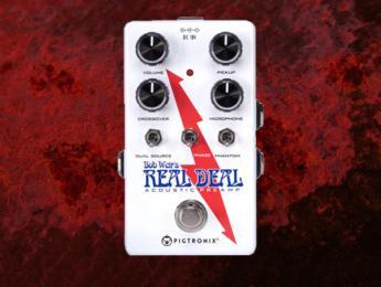 Bob Weir's Real Deal, el nuevo preamplificador para acústica de Pigtronix