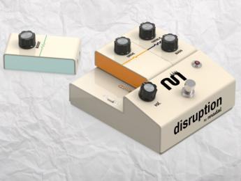 Modal Effects Disruption, crea tu pedal de distorsión como si fuese un puzzle