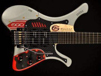 Marconi Lab actualiza su guitarra ergonómica Ego con la nueva Hyper 6 SS
