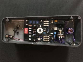 Wilson Effects actualiza su pedal Rippah Wah situando todos los controles en el interior