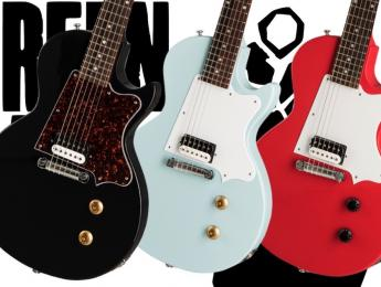 Billie Joe Armstrong estrena nueva Gibson Les Paul Junior Signature