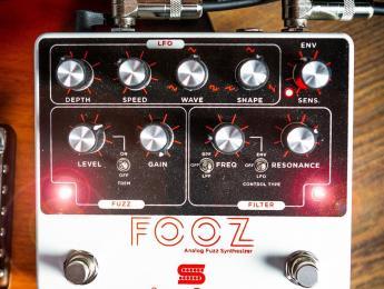 Fooz, el nuevo sintetizador analógico para guitarra de Seymour Duncan