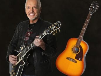 Epiphone lanza replicas de la Gibson Les Paul del 54 y la electroacústica Texan de Peter Frampton