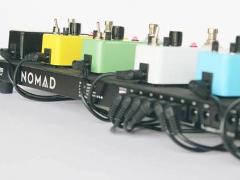 Nomad de Outlaw Effects, pedalera con batería recargable como fuente de alimentación