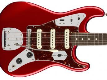 La Fender Parallel Universe de octubre fusiona los modelos Jaguar y Stratocaster