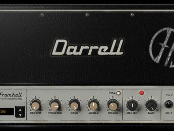 Dimebag Darrell CFH Collection, los sonidos de Pantera emulados por Amplitube