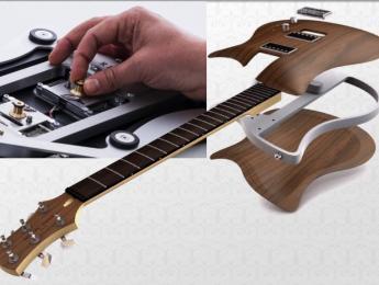 Las guitarras modulares con pastillas intercambiables de Relish