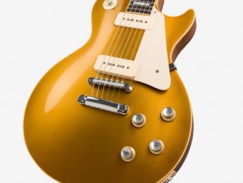 La 50th Anniversary 1968 Les Paul Goldtop celebra la reedición de esta Gibson icónica
