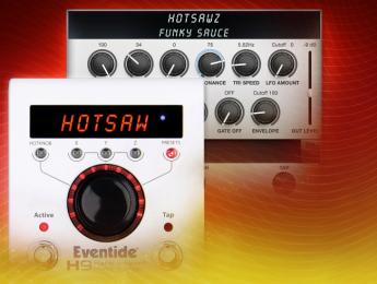 Eventide Hotsawz, el nuevo algoritmo sintetizador para el multiefectos H9