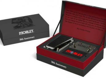 Morley celebra su 50 aniversario con un pack que incluye una caja ABY y un Mini Power Wah cromados