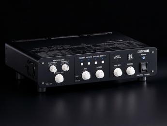 Boss Waza Tube Amp Expander: caja de carga reactiva USB con cargador de impulsos y etapa de potencia