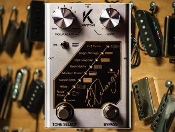 Keyztone EXchanger, un pedal que cambia las pastillas de la guitarra de forma virtual