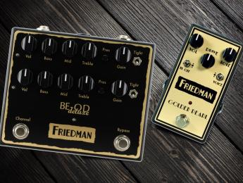 Ya están disponibles los pedales BE-OD Deluxe y Golden Pearl de Friedman