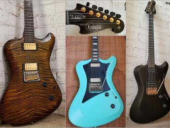 Tuckahoe, el primer modelo estilo Offset de Knaggs Guitars