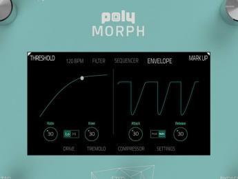 """Poly Digit y Morph, los nuevos pedales de los creadores de la """"alfombra láser"""""""
